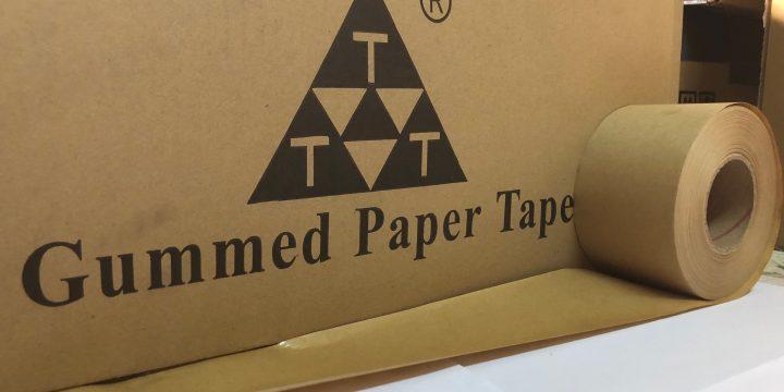 The Tak(TTT) Gummed Paper Tape