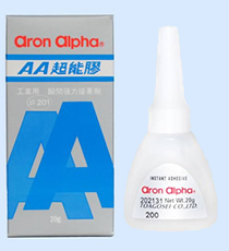 Aron Alpha ® Type 200Industrial Instant Glue (for industries)
