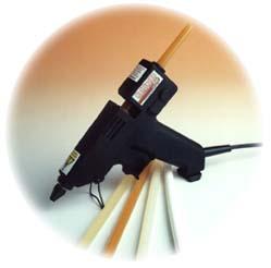 The Hotfix 180 240v  Hot Glue Gun/ Hot Melt Industrial Glue  with Glue Sticks