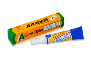 Aron Alpha ® Gel-10 Fast Set Instant Adhesive (for Household/office)